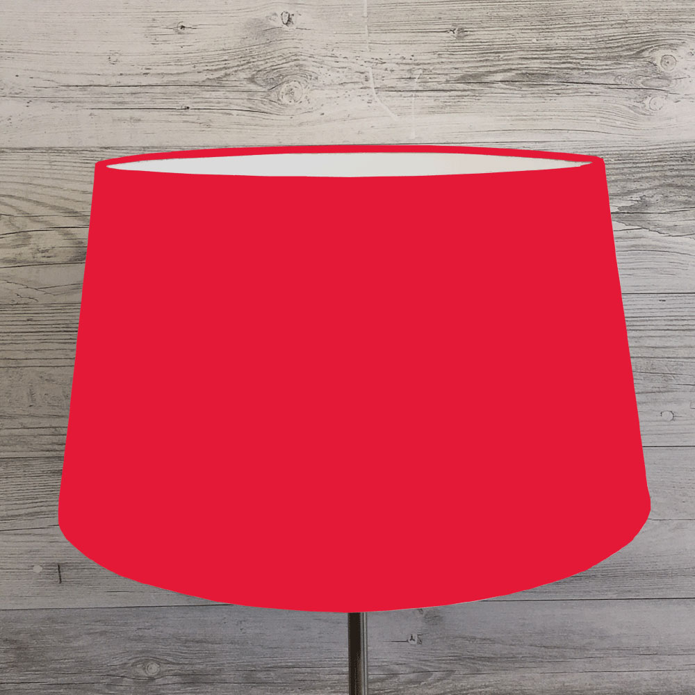 Drum lamp shades imperial lighting french drum lampshade red aloadofball Image collections