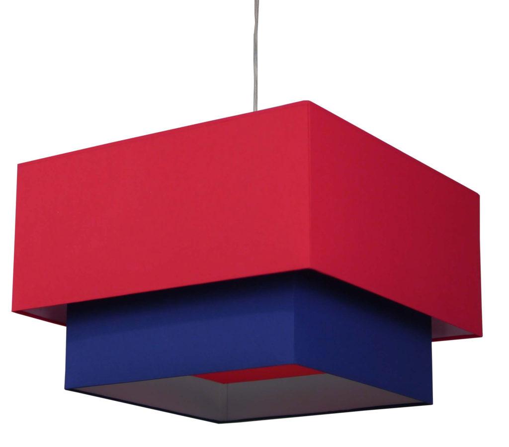 bespoke 2-tier lampshade
