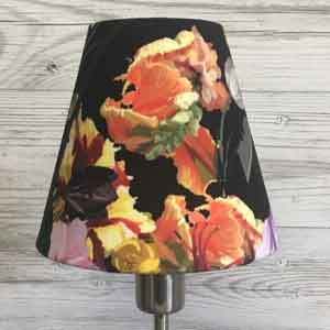 Modern lampshade recover