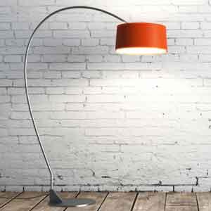 Contemporary Standard Lamp Shade