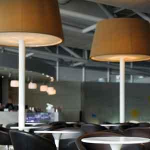 Bespoke floor lamp shades