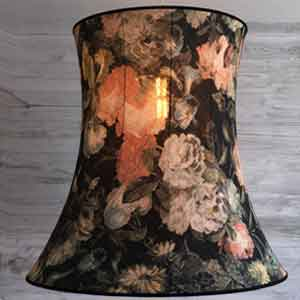 Bespoke traditional lamp shade