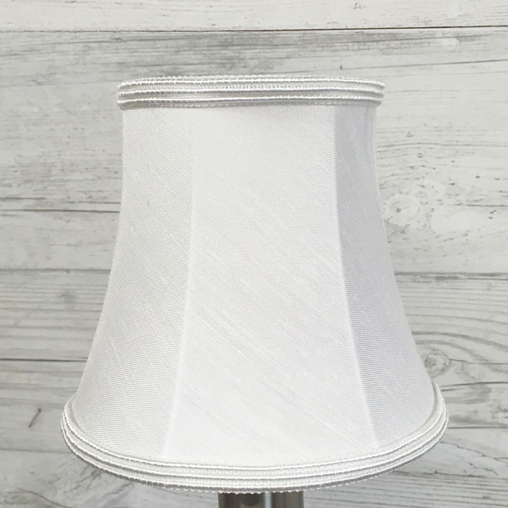 White bell candle shade