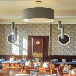 Large bespoke lampshades