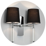 Modern Clip on Lampshades