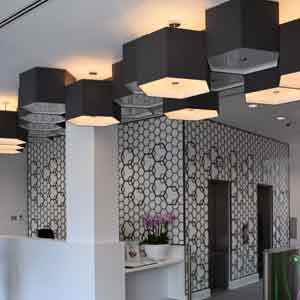 Dark Grey lampshades