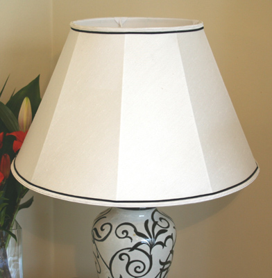 White table lamp shade