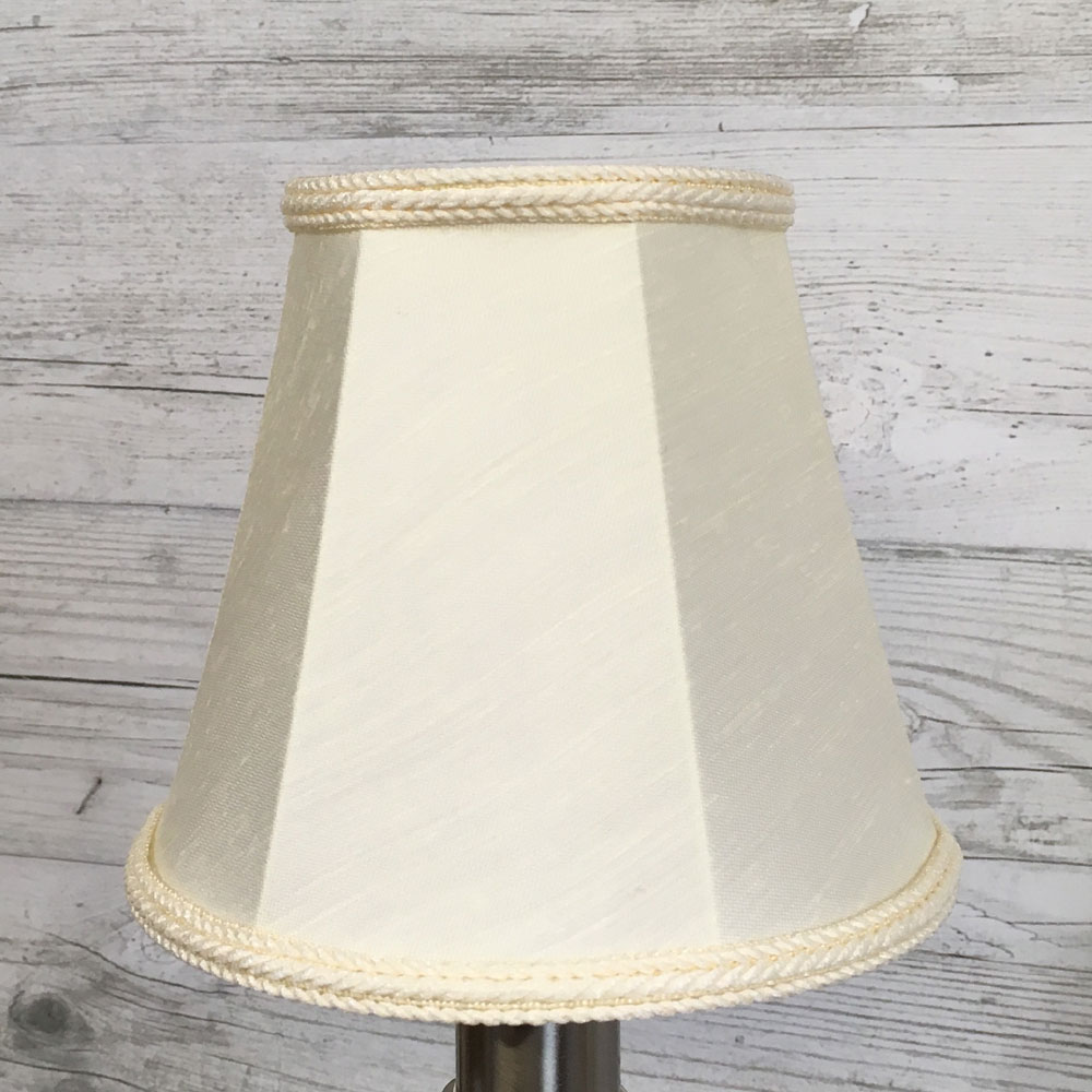 Empire candle lamp shade cream