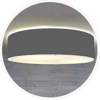 Charcoal Grey Drum Lamp Shade