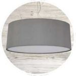 Grey Ceiling lampshades