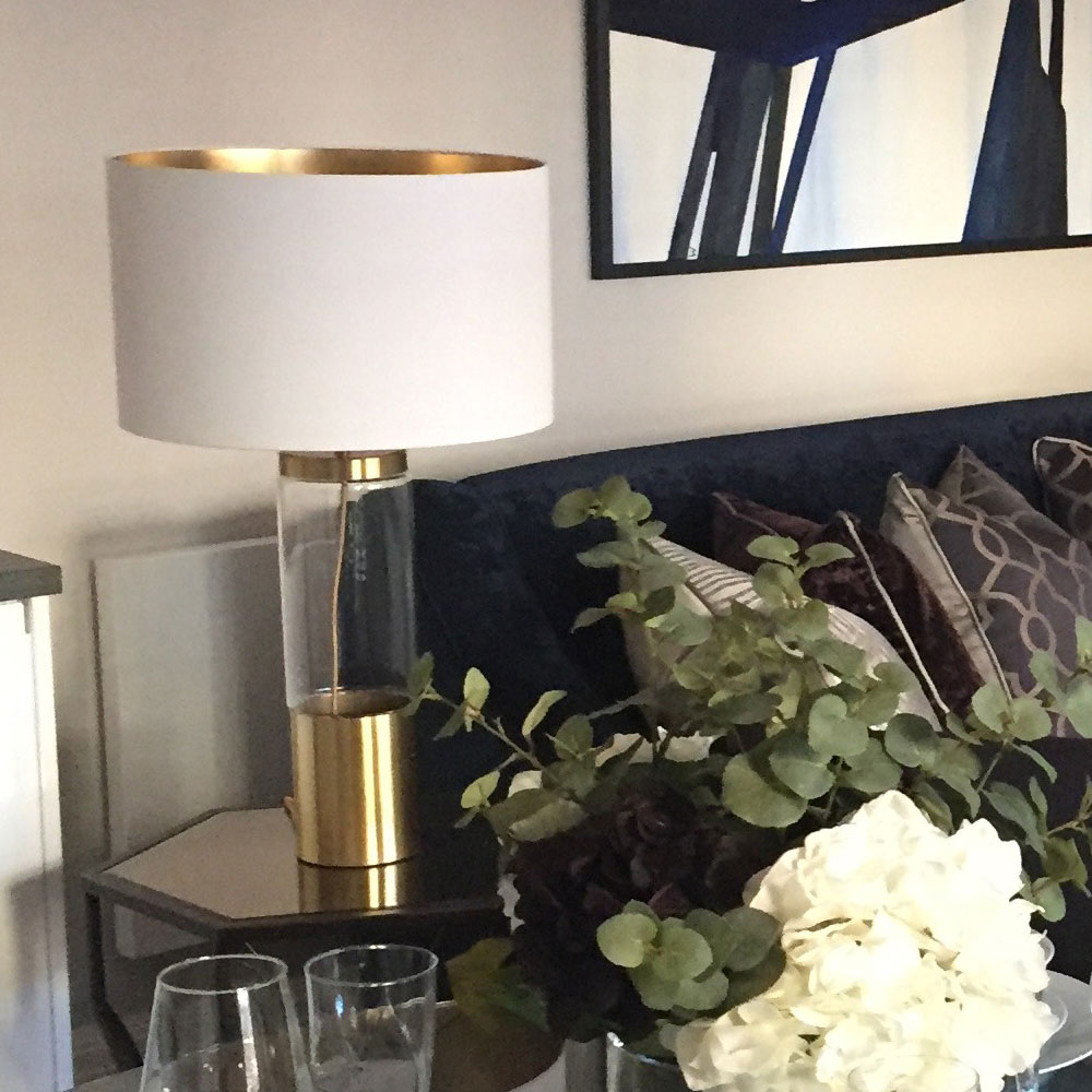 White Lampshades Imperial Lighting
