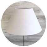 Modern-white-lampshade