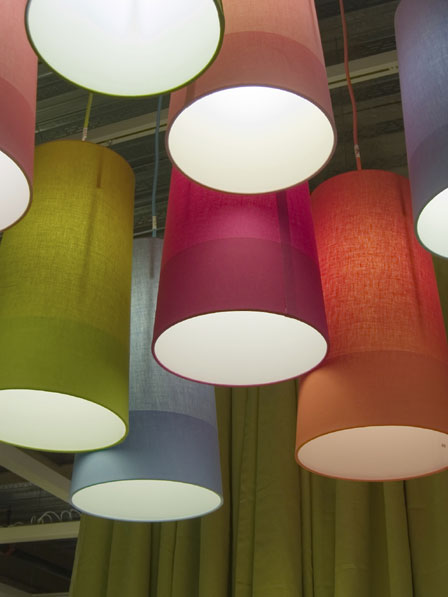 Ceiling light shades