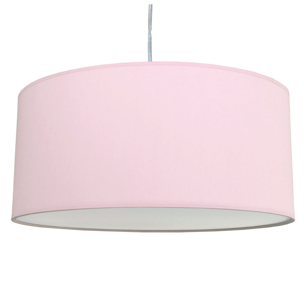 Pale violet drum shade