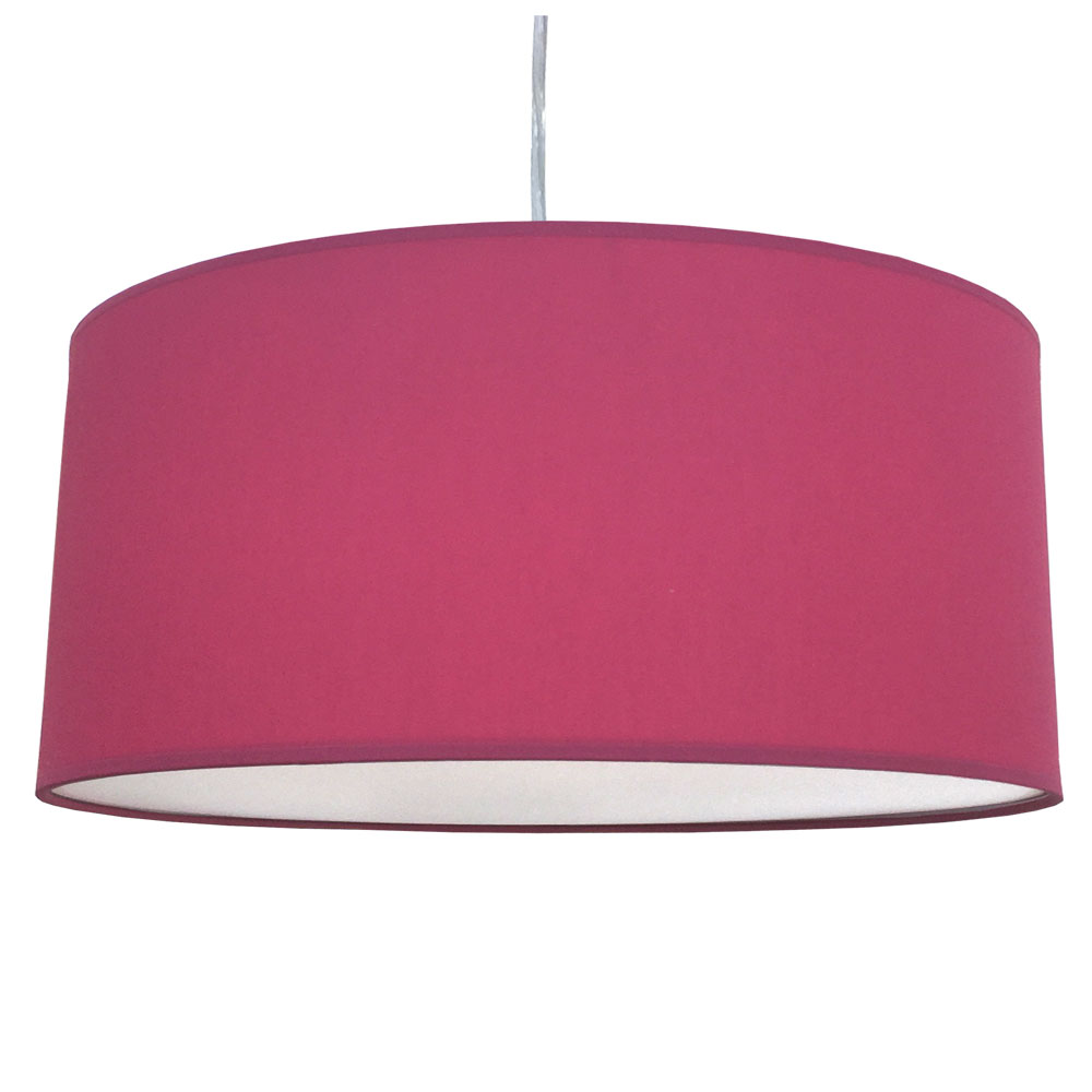 Raspberry Drum Lamp Shade