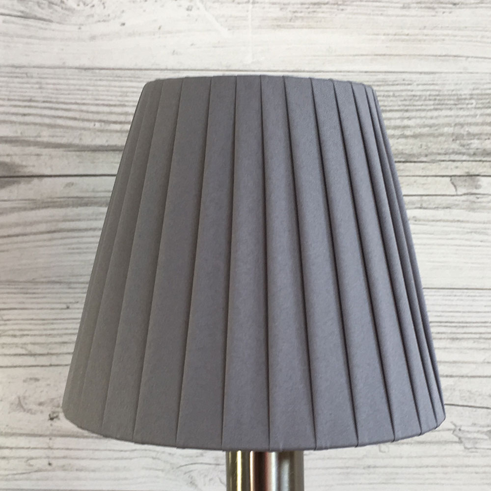 Grey Candle Shade