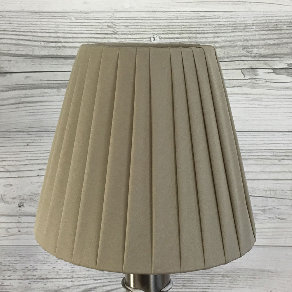 Khaki Candle Lamp Shade