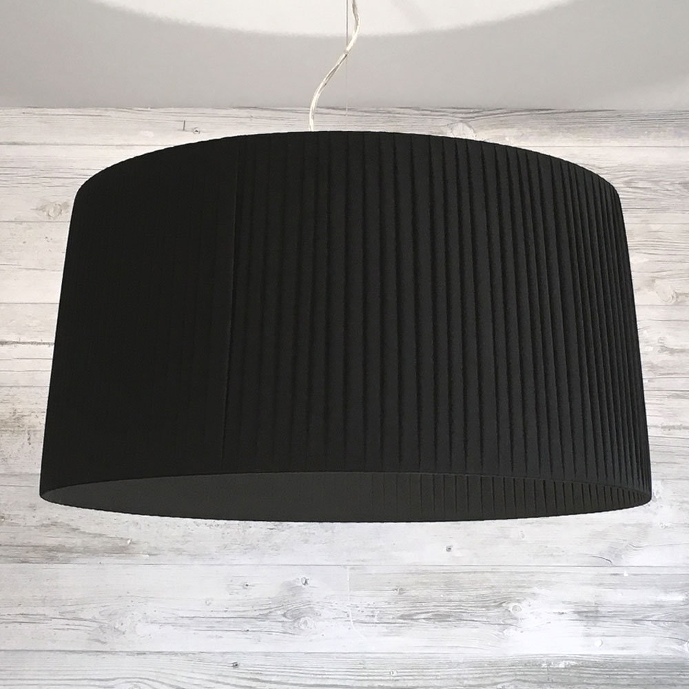 Ribbon Lamp Shade Black[1]