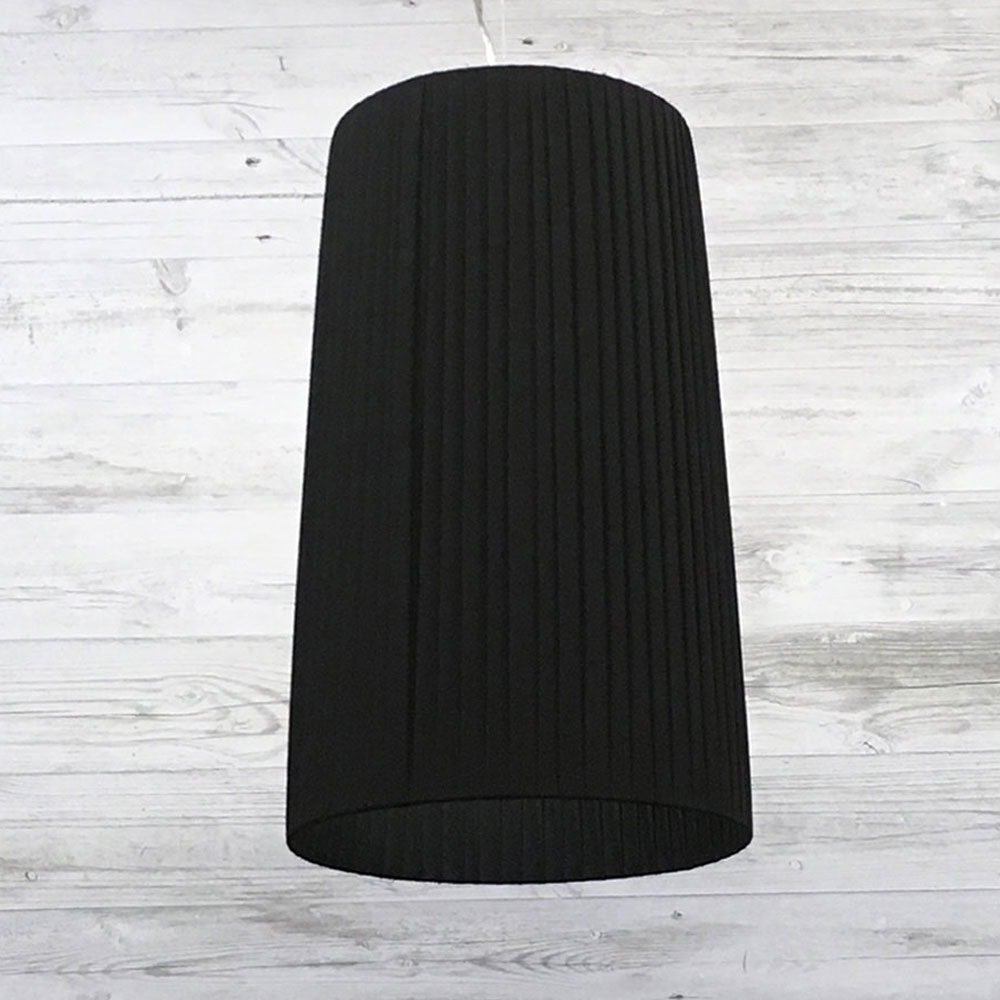Ribbon Pendant Light Black