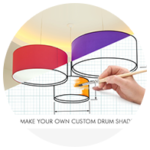 fabric lampshades online builder