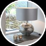 Table & Floor Lamp Drum Shades