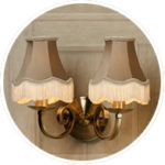 Traditional Clip on Lampshades