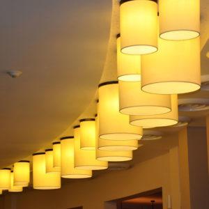 Cylinder lamp shades