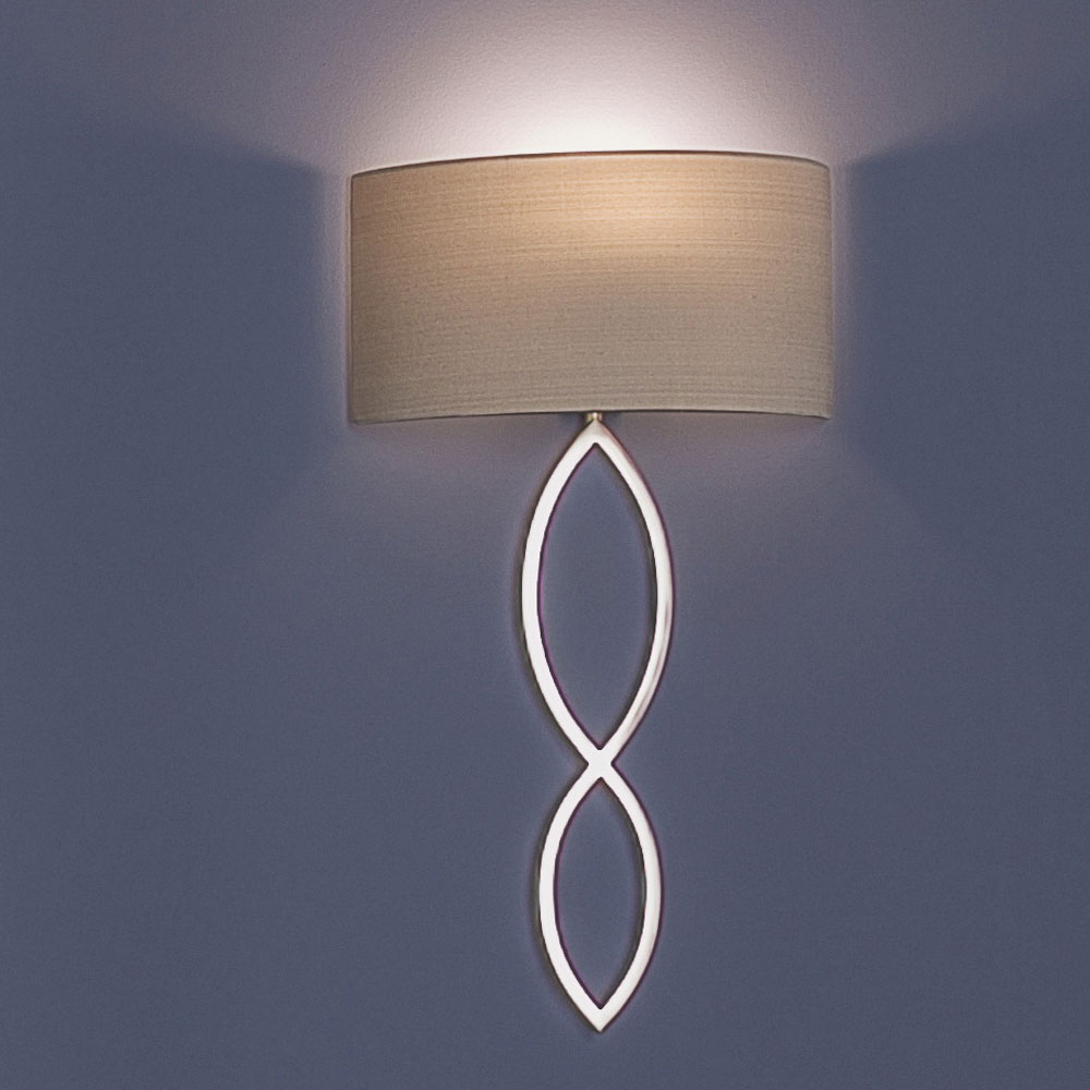 Clip on wall lampshade