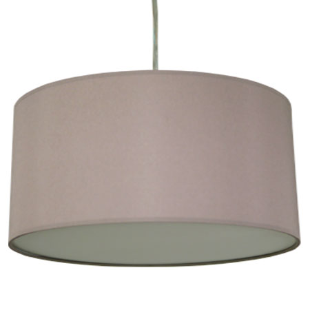 extra large mushroom-drum lamp shade