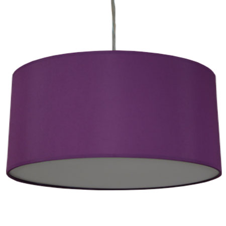 purple drum shade