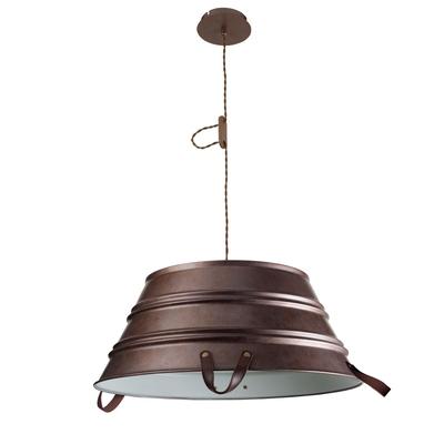 Copper Bucket Pendant (Large)