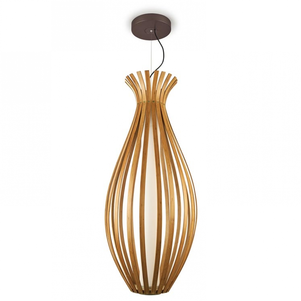 Bamboo LED Luxury Pendant