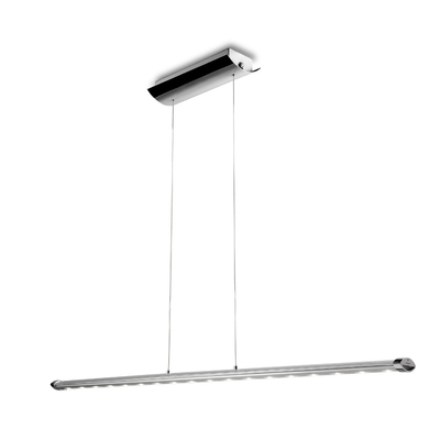 Belt Chrome LED Bar Pendant