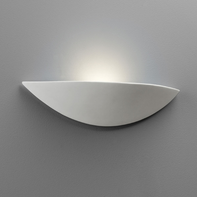 Ceramic Classic Uplighter Wall Light