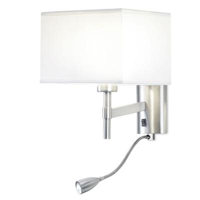 Ray Satin Nickel LED Wall Light