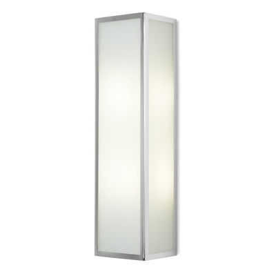 Case Glass and Chrome Wall Light