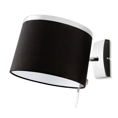 Chic Chrome, Black and Urban Grey Wall Light