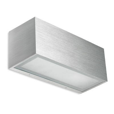 Boxed Brushed Wall Light