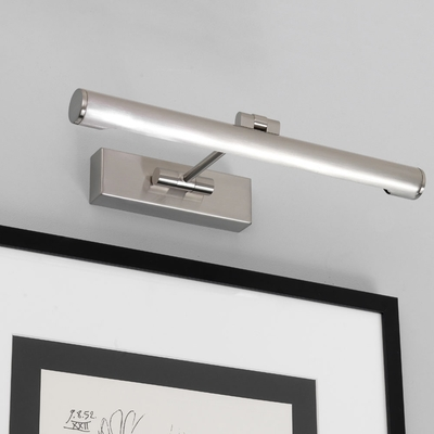 Picture Light in Nickel (Small)