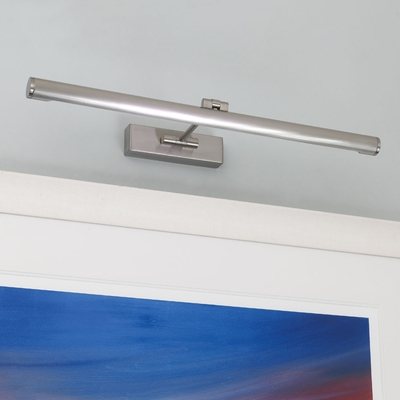 Picture Light in Nickel (Large)