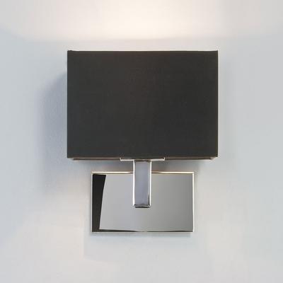 Polished Chrome Wall Light with Shade