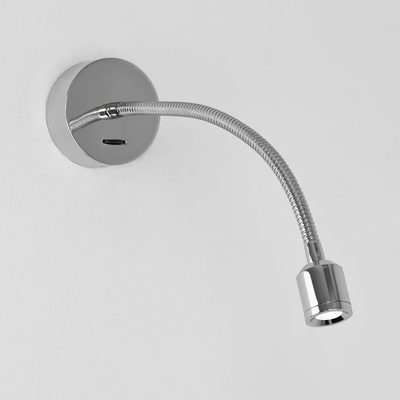 Antennae Chrome LED Wall Light