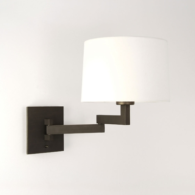 Swing Arm Bronze Wall Light
