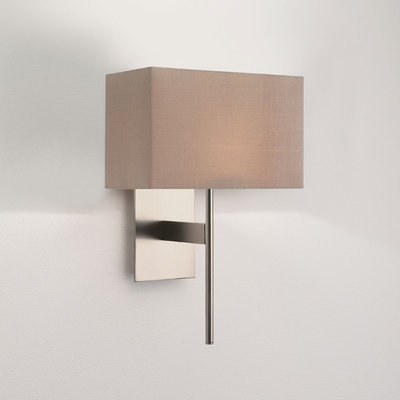 Regal Matt Nickel Wall Light