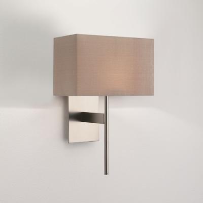 Regal Matt Nickel Wall Light