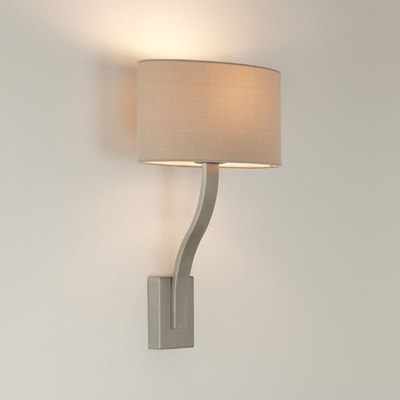 Sofia Matt Nickel Wall Light