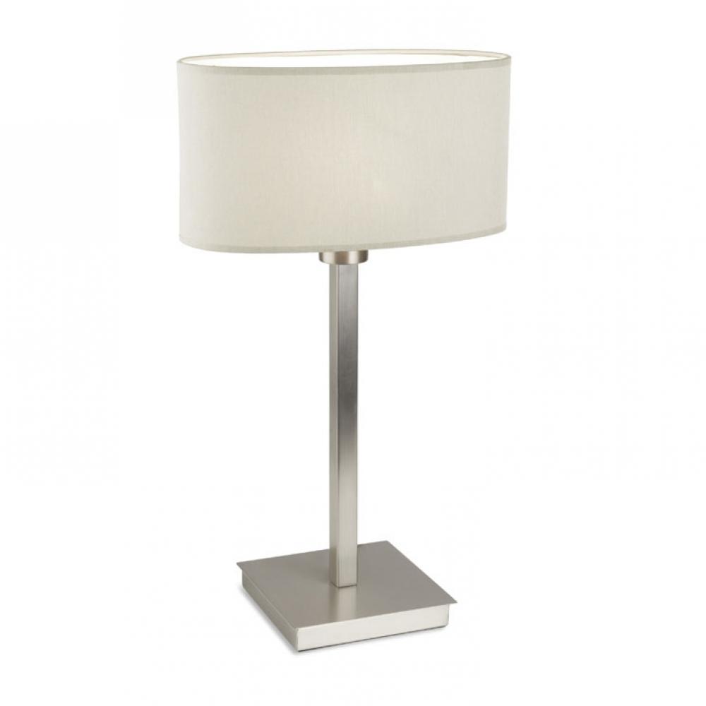 Torino Table Lamp Satin Nickel