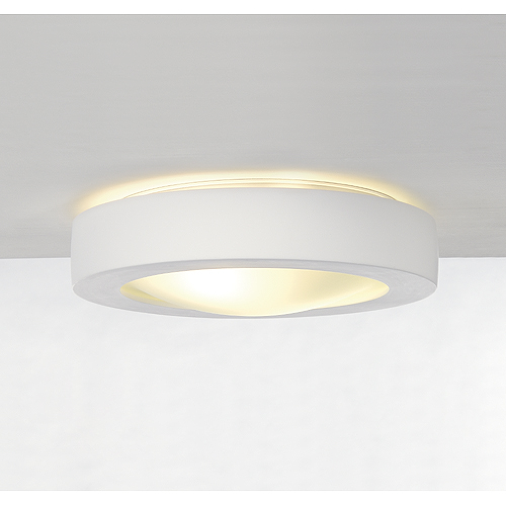Plaster Round Ceiling Light