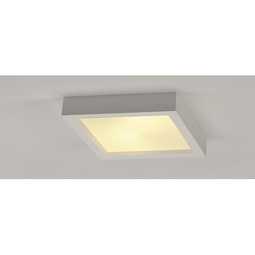 Plaster Square Ceiling Light Imperial Lighting