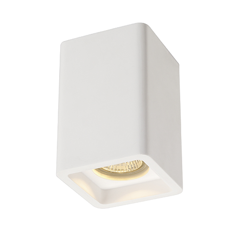 Plaster Cube Spotlight Ceiling Light